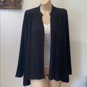 FINAL TOUCH sheer cardigan small